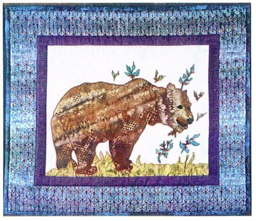 Grizzly Bear Mini Quilt Pattern Alaskan Patterns